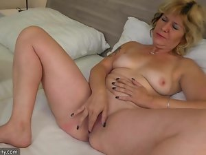 OldNanny Teen girl plus age-old mature lesbian